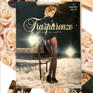 Transparenze Nude Patterned Pantyhose from Italy